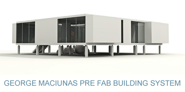 George Maciunas Pre Fab Building System